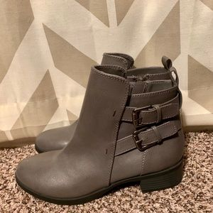 Gray Old Navy Bootie NWOT